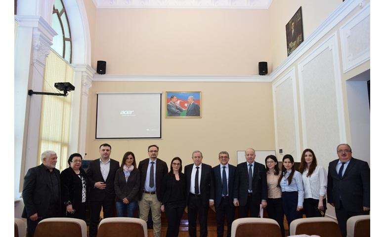 """""""İnnovativ polimerlər üzrə Azərbaycan – İtaliya elmi seminarı"""" öz işinə başladı"""