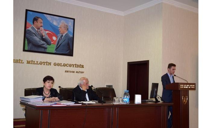 II kurs magistrantların dissertasiya müdafiəsi keçirilmişdir