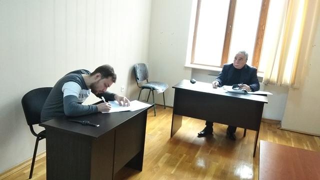 AMEA-nın akad.M.Nağıyev adına Kataliz və Qeyri-üzvi Kimya İnstitutunda təhsil alan magistrantların qış imtahan sessiyası 17.01.2020-ci il tarixində keçirildi.