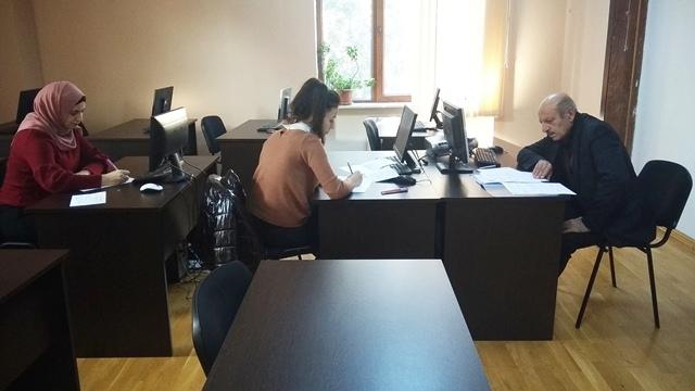 AMEA-nın akad.M.Nağıyev adına Kataliz və Qeyri-üzvi Kimya İnstitutunda təhsil alan magistrantların qış imtahan sessiyası 22.01.2020-ci il tarixində keçirildi.