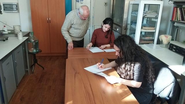 AMEA-nın akad.M.Nağıyev adına Kataliz və Qeyri-üzvi Kimya İnstitutunda təhsil alan magistrantların qış imtahan sessiyası 27.01.2020-ci il tarixində keçirildi.