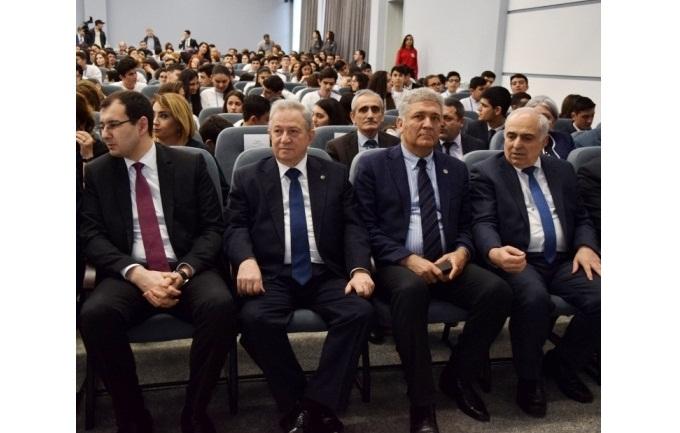 """""""Sabahın alimləri"""" VII Respublika Müsabiqəsinin qalibləri mükafatlandırılıb"""