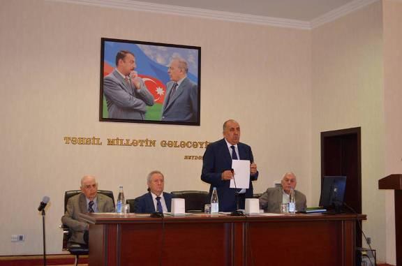 Academician Bahadur Zeynalov's 100th anniversary held