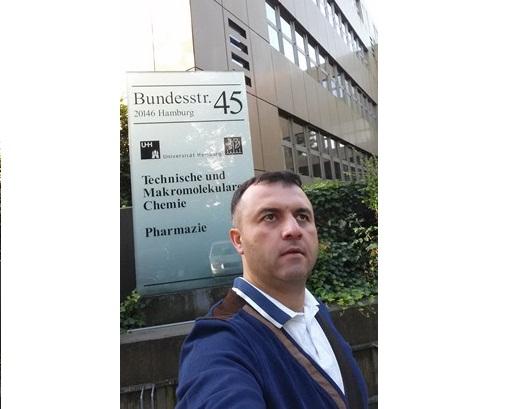 İnstitutun əməkdaşı Şamo Tapdıqov Almaniyanın Hamburq şəhərində elmi ezamiyyətdə olmuşdur
