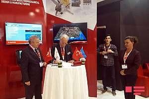 """Memorandum was signed between """"AYESASH"""" company of Turkey and M.Nagiyev Institute of Catalysis and Inorganic Chemistry"""