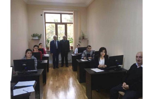 İnstitutda 05.12.2017-ci il tarixdə saat 10-da qış minimum imtahanları keçirildi