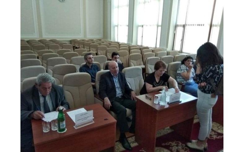 2018/2019-cu tədris ili üçün AMEA-nın magistraturasına bakalavrların seçilməsi üçün müsahibə davam edir