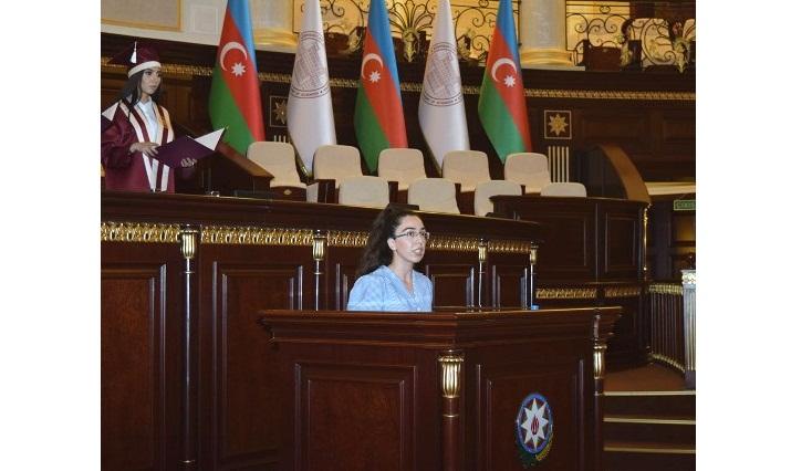 Прошел «День выпускника» магистров НАНА