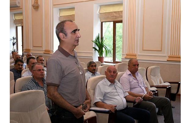 Fövqəladə hallar zamanı həyata keçirilən tədbirlərə dair seminar-məşğələ keçirilib