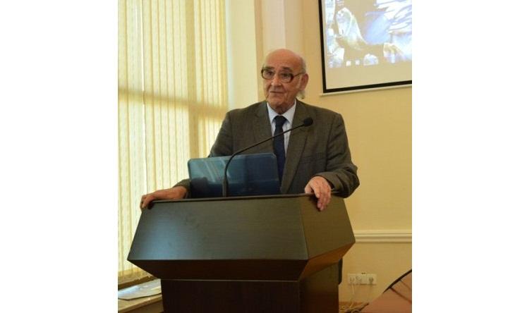 Elmi Şurada AMEA-nın müxbir üzvü, professor Eldar Zeynalovun 70 illik yubileyi qeyd olunub