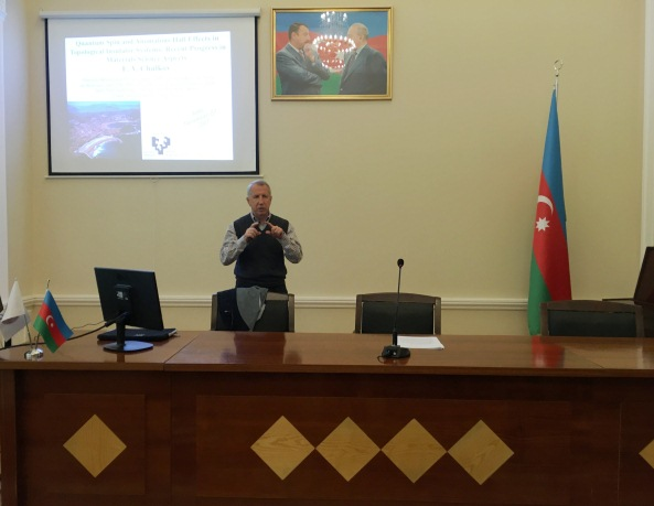 AMEA M.Nağıyev adına Kataliz və Qeyri-Üzvi Kimya İnstitutunda elmi seminar keçirildi