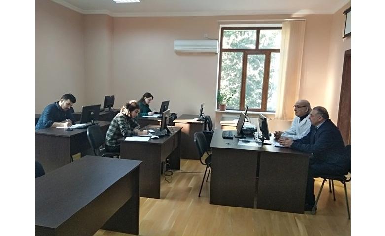 AMEA-nın akad.M.Nağıyev adına Kataliz və Qeyri-üzvi Kimya İnstitutunda təhsil alan magistrantların qış imtahan sessiyası keçirilmişdir