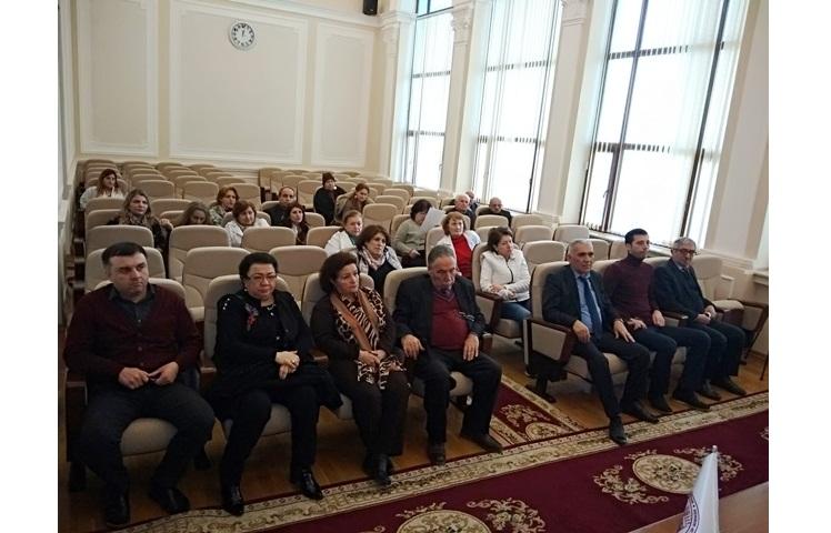 AMEA M.Nağıyev adına Kataliz və Qeyri-üzvi Kimya İnstitutunun akt zalında Azad Həmkarlar İttifaqının təşkilatçılığı ilə iclas keçirilmişdir