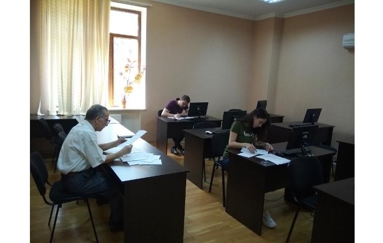 AMEA-nın akad.M.Nağıyev adına Kataliz və Qeyri-üzvi Kimya İnstitutunda təhsil alan magistrantların yay imtahan sessiyası 07.06.2019-cu il tarixində keçirildi.