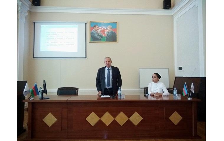 Bulgaria-Azerbaijan scientific seminar was held