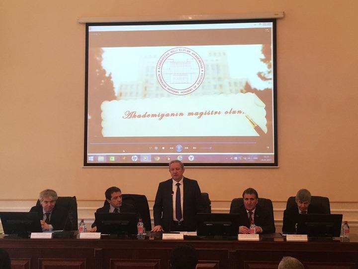 AMEA-da İtaliya alimləri ilə birgə seminar keçirilib