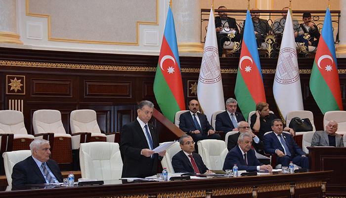 Состоялась совместная научная сессия Общего собрания НАНА и Коллегии Министерства образования Азербайджанской Республики