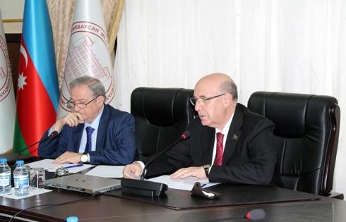 Состоялось совместное заседание Отделения химических наук и Отделения биологических и медицинских наук