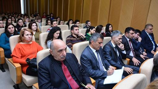 В НАНА состоялась научно-практическая конференция на тему «Молодежный взгляд на современную науку»