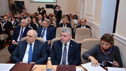 AMEA-nın Yer Elmləri Bölməsinin 2017-ci ildəki elmi və elmi-təşkilati fəaliyyətinə dair hesabatı dinlənilib