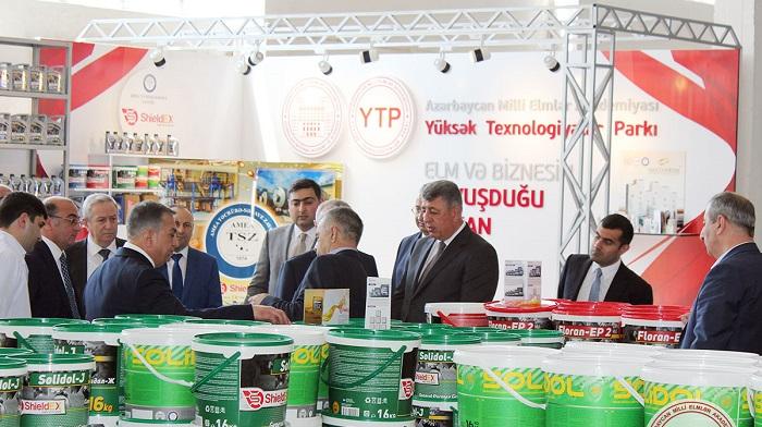 SOCAR-ın vitse-prezidentləri AMEA YT Parkın məhsulları ilə tanış olublar
