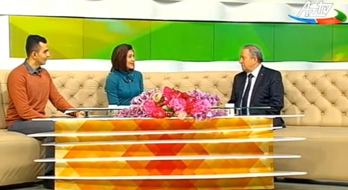 """Akademik Dilqəm Tağıyev AZ TV-nin """"Səhər"""" proqramının qonağı olub"""