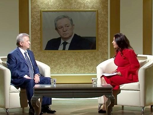 """Akademik Dilqəm Tağıyev ATV-nin """"Geriyə baxanda"""" proqramının qonağı olub"""