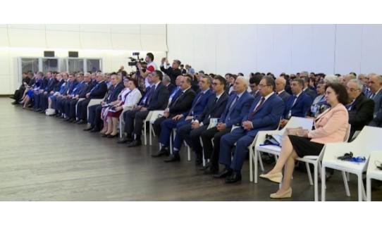 """""""Bilik və innovasiya iqtisadiyyatına əqli mülkiyyətin dəstəyi"""" mövzusunda konfrans keçirilmişdir"""