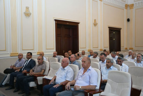 Seminar-training held on emergency situations held