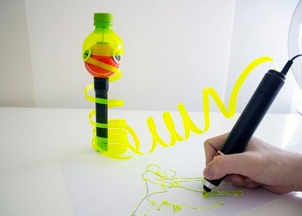 3D-qələm plastik butulkaları emal etməyə icazə verəcək