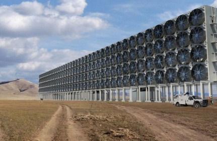 Mühəndislər havadan karbon dioksidi almaq üçün ucuz yol təklif etdilər