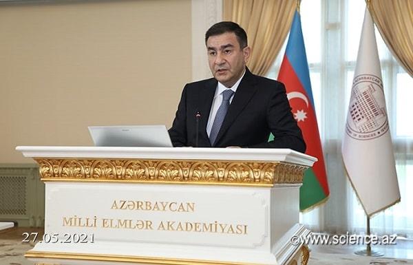 """Famil Mustafayev: """"Elmi tədqiqat işlərinin sənayenin, biznesin və innovasiya iqtisadiyyatının çağırışlarına fokuslanması günün tələbidir"""""""