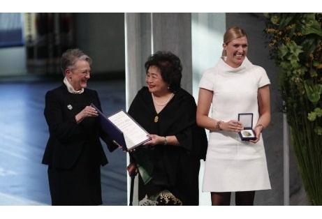Osloda Nobel Sülh Mükafatının təqdimetmə mərasimi keçirilib