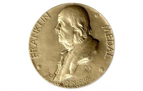 Обнародованы имена лауреатов медали «Бенжамина Франклина» на 2018 год