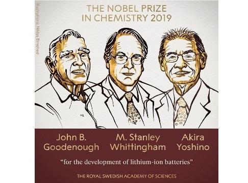 2019-cu il üzrə kimya sahəsində Nobel mükafatı laureatlarının adları açıqlanıb