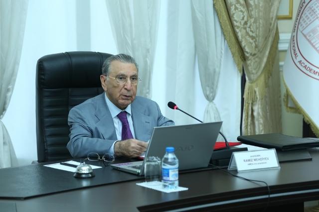 Azərbaycan Milli Elmlər Akademiyasının onlayn ümumi yığıncağı keçirilib