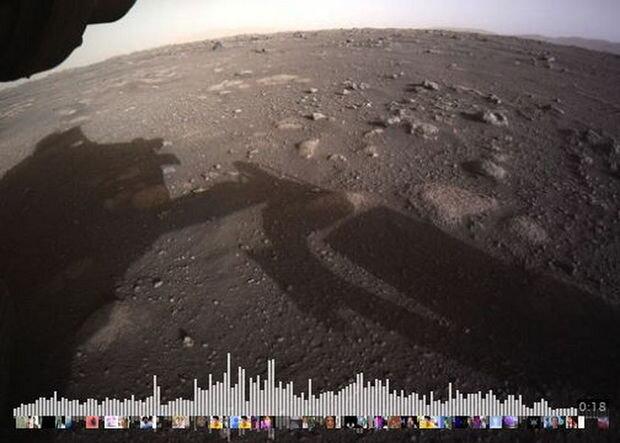 Mars səthindən ilk səs yazısı paylaşıldı - AUDİO