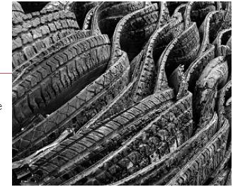 Низкокачественный графен из старых шин укрепит бетонные конструкции