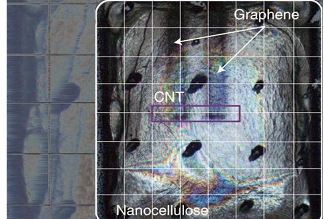Kimyaçılar təkrar istifadə edilə bilən transistoru kağız daşıyıcısında çap edirlə