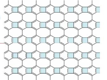 Химики получили негексагональную двумерную форму углерода