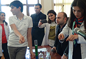 "Institute of Catalysis and Inorganic Chemistry of ANAS held ""Open door"" day"