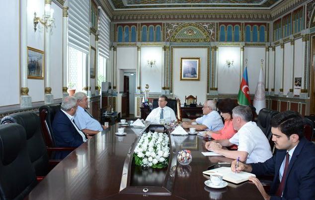 Состоялась встреча президента НАНА с президентом Академии наук Молдавии