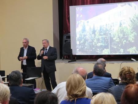 Azərbaycan alimləri Gürcüstanda keçirilən beynəlxalq konfransda çıxış ediblər