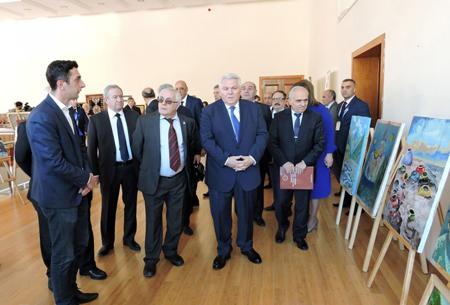İkinci Azərbaycan Elm Festivalının Şəki mərhələsi çərçivəsində elmi-populyar məruzələr dinlənilib