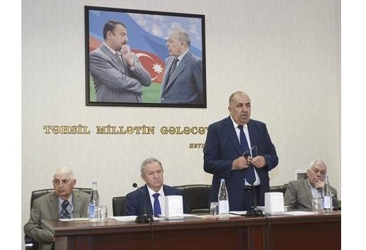 AMEA-da akademik Bahadur Zeynalovun 100 illik yubileyi qeyd olunub