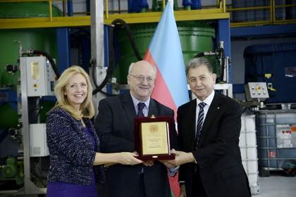 "AMEA-nın Yüksək Texnologiyalar Parkında ""Millers Oils Azerbaijan"" MMC-nin istehsalat kompleksi açılıb"