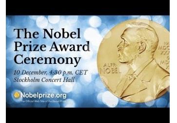 Bu ilin Nobel mükafatları sahiblərinə təqdim olunub