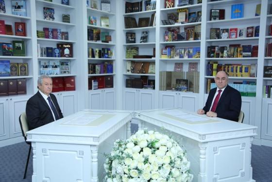 """AMEA-nın vitse-prezidenti, akademik Dilqəm Tağıyev AzTV kanalında  """"Elm və İnnovasiya"""" proqramında"""