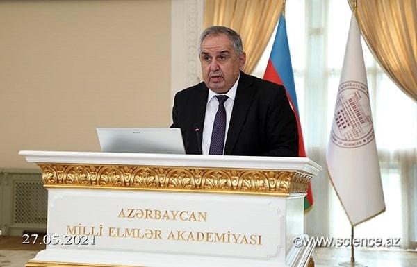 Akademik Arif Həşimov AMEA-nın akademik-katibi seçilib