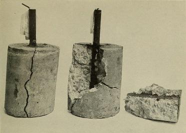 Metalın korroziyasını  betonun arasından görmək mümkündür